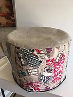 Пуфик Шайба Мяч бескаркасная мебель, фото 1
