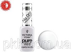 Гель лак для ногтей Victoria Vynn PURE CREAMY HYBRID Salon color кремовый гель-лак 8 ml.