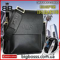 Мужская сумка через плечо Polo videng + Подарок!!!