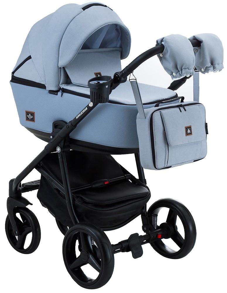 Детская универсальная коляска 2 в 1 Adamex Barcelona BR-226