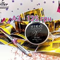 Стартовый набор для наращивания ногтей гелем Viko Professional UV Gel А3