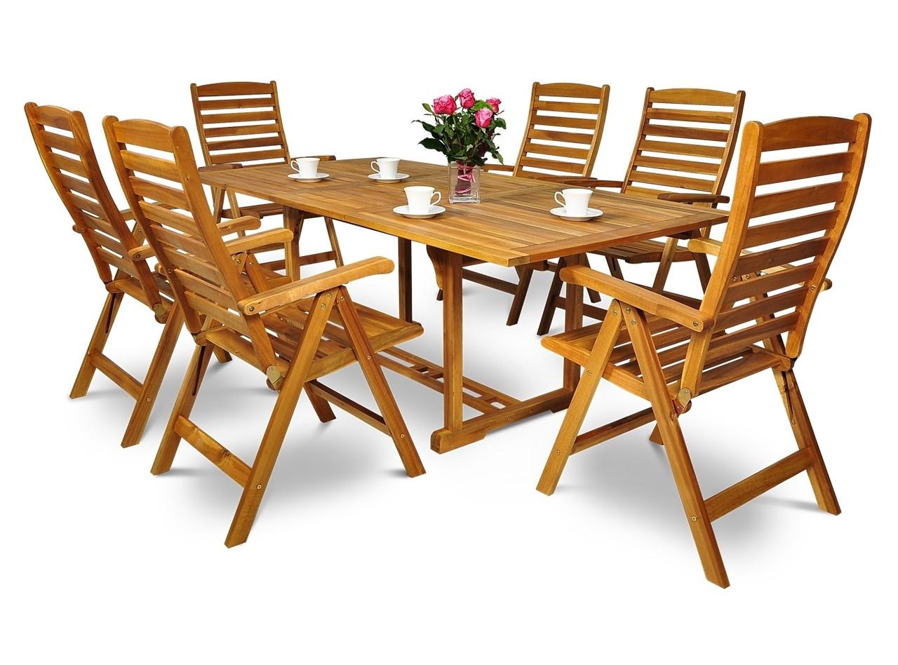 Обідній комплект HAVANA ,стіл розкладний  200см+крісла