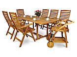 Обідній комплект HAVANA ,стіл розкладний  200см+крісла, фото 5