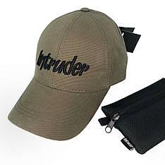 Бейсболка мужская кепка Intruder Originals мужская | женская хаки брендовая + Фирменный подарок
