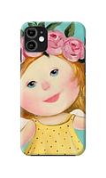 Чехол «Девочка с венком» для iPhone 11 Силиконовый