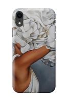 Чехол «Девушка в цветах» для Iphone XR Силиконовый