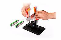 Профессиональное заточное устройство, для ножей с возможностью многоступенчатого восстановления режущей кромки