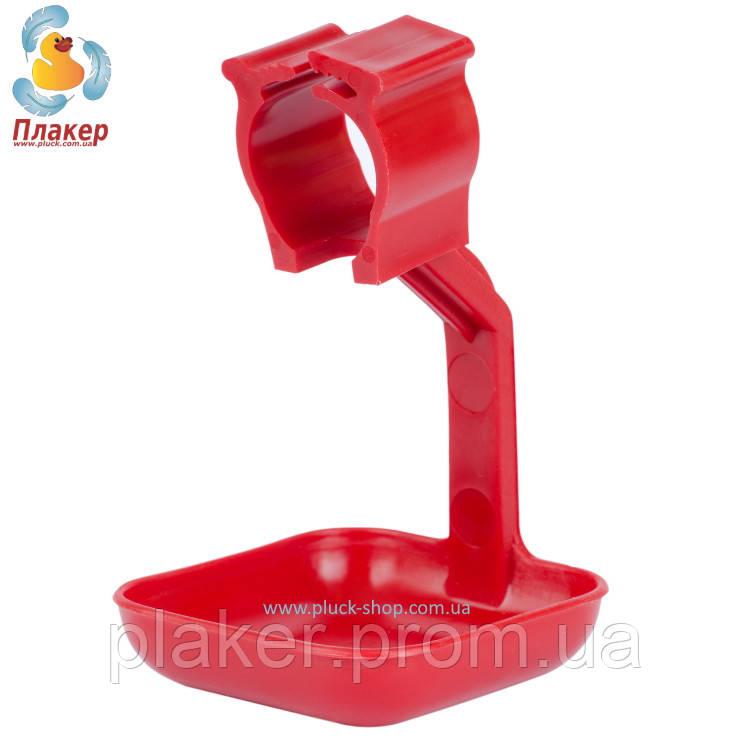 Каплеуловитель (каплеулавливатель) на круглую трубу для ниппельной поилки