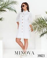 Женское платье летнее белое
