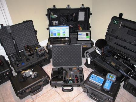 Обнаружение скрытых жучков, камер и трекеров