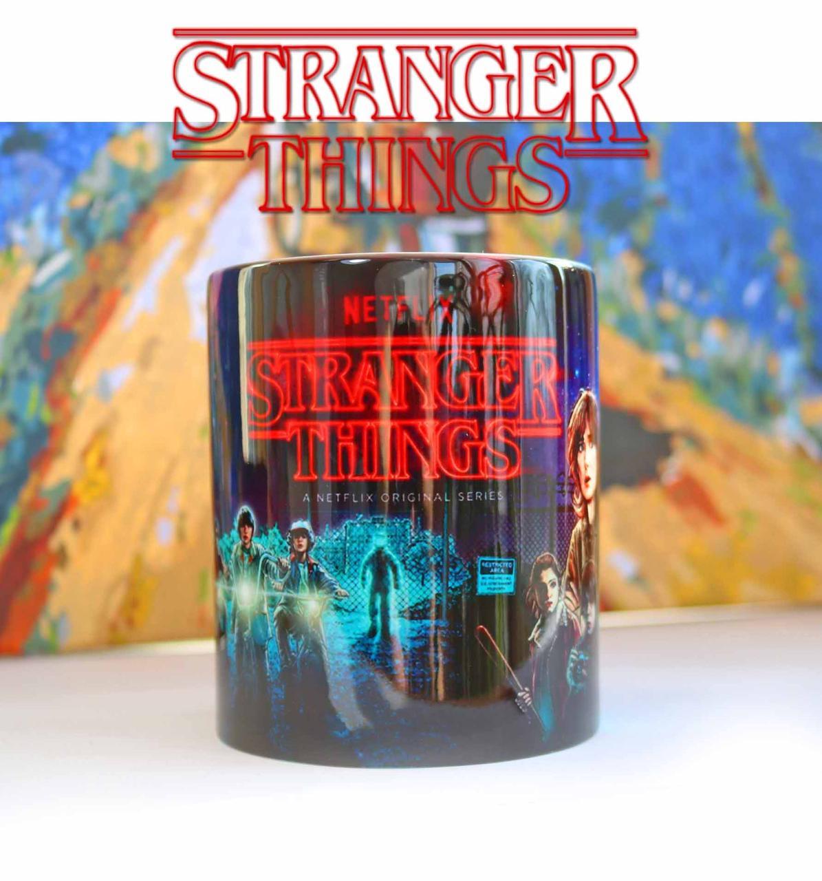 Чашка Очень странные дела / Stranger Things ночная