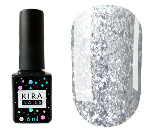 Гель-лак Kira Nails Shine Bright №001 6мл