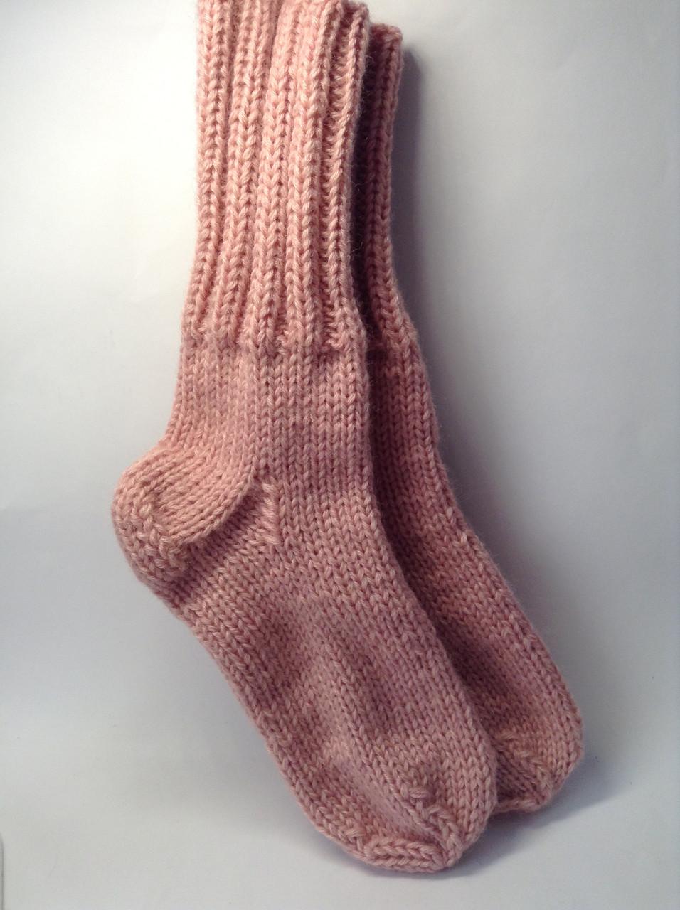Носки вязаные (50% шерсть)