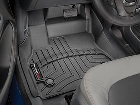 Ковры резиновые WeatherTech Chevrolet Bolt EV 2016+ передние черные
