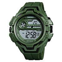 Skmei 1383 зеленые мужские спортивные часы, фото 1