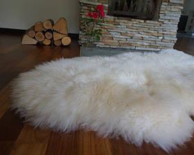 Овечья шкура, шкура овцы новозеландской породы XXXL (шерсть средней длины) 07, фото 3
