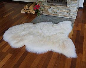 Овечья шкура, шкура овцы новозеландской породы XXXL (шерсть средней длины) 07, фото 2