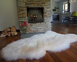 Овеча шкіра, шкура вівці новозеландської породи XXXL (шерсть середньої довжини) 07