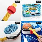 Вращающаяся щетка-насадка для шланга насадки Cleaner Roto Brush | Щетка с насадкой для шланга, фото 2