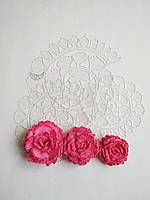 Шаблон пластиковый цветок гвоздика 22, фото 1