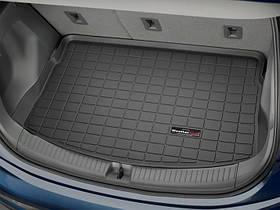 Ковик резиновый WeatherTech Chevrolet Bolt EV 2016+ в багажник черный с фальш полкой