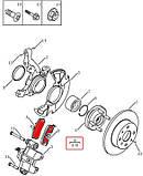 Колодки тормозные передние с ABS Geely CK / CK2, фото 2