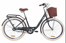 """Велосипед городской женский 26"""" Dorozhnik Lux 2020 стальная рама 17"""", фото 3"""