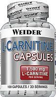Жіросжігателя Weider L-Carnitine 1500 100 caps