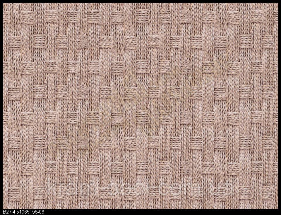 Шпалери Слов'янські Шпалери КФТБ прості паперові миються 10м*0,53 9В56 Плетінка 5196-06