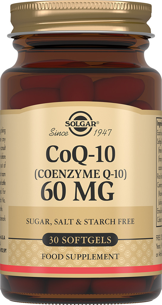 Solgar Коэнзим Q-10 60 мг капсулы №30