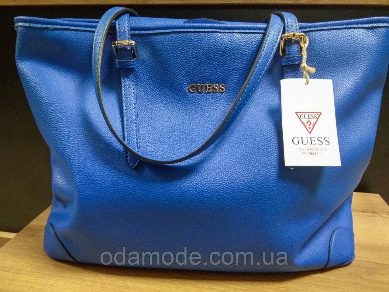 Cумка женская синяя Guess