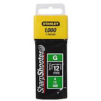 Скобы для степлера 12 мм тип G STANLEY (1-TRA708T) 1000 шт.