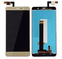 Дисплей с сенсорным экраном Xiaomi REDMI NOTE 3 PRO SE GOLD