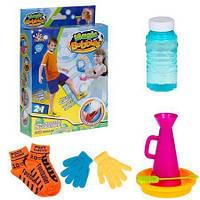 Набор для игры с мыльными пузырями  Футбол