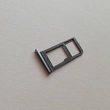 Сим-лоток для Samsung S7 Edge G935F Black