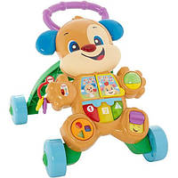 Fisher-Price Ходунки толкатели щенок смейся и учись FHY95 Laugh Learn Smart Stages Learn Puppy Walker ЯЗЫК НЕМЕЦКИЙ