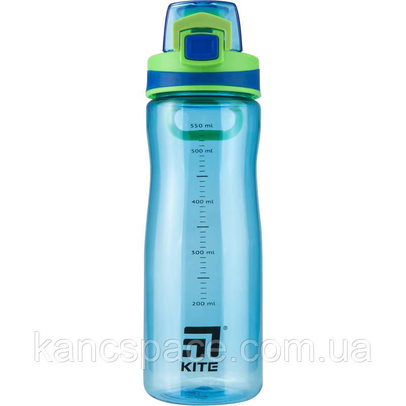 Пляшечка для води Kite K20-395-02, 650 мл, блакитна