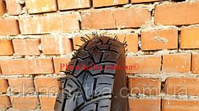 Резина на скутер 3.50-10 с камерой шипованная 8 PR, фото 2