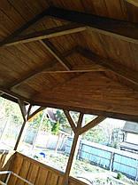 Альтанка з дерева, фото 2