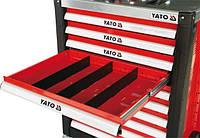 Перегородки для ящика YATO 391 x 128 x 4 мм