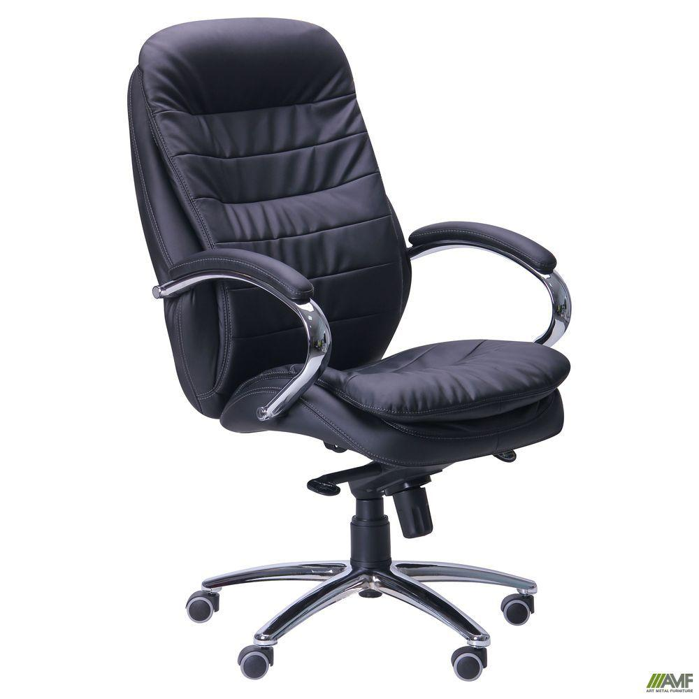 Кресло офисное AMF Валенсия MB чёрное