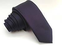 Фиолетовый мужской галстук violet 5cm