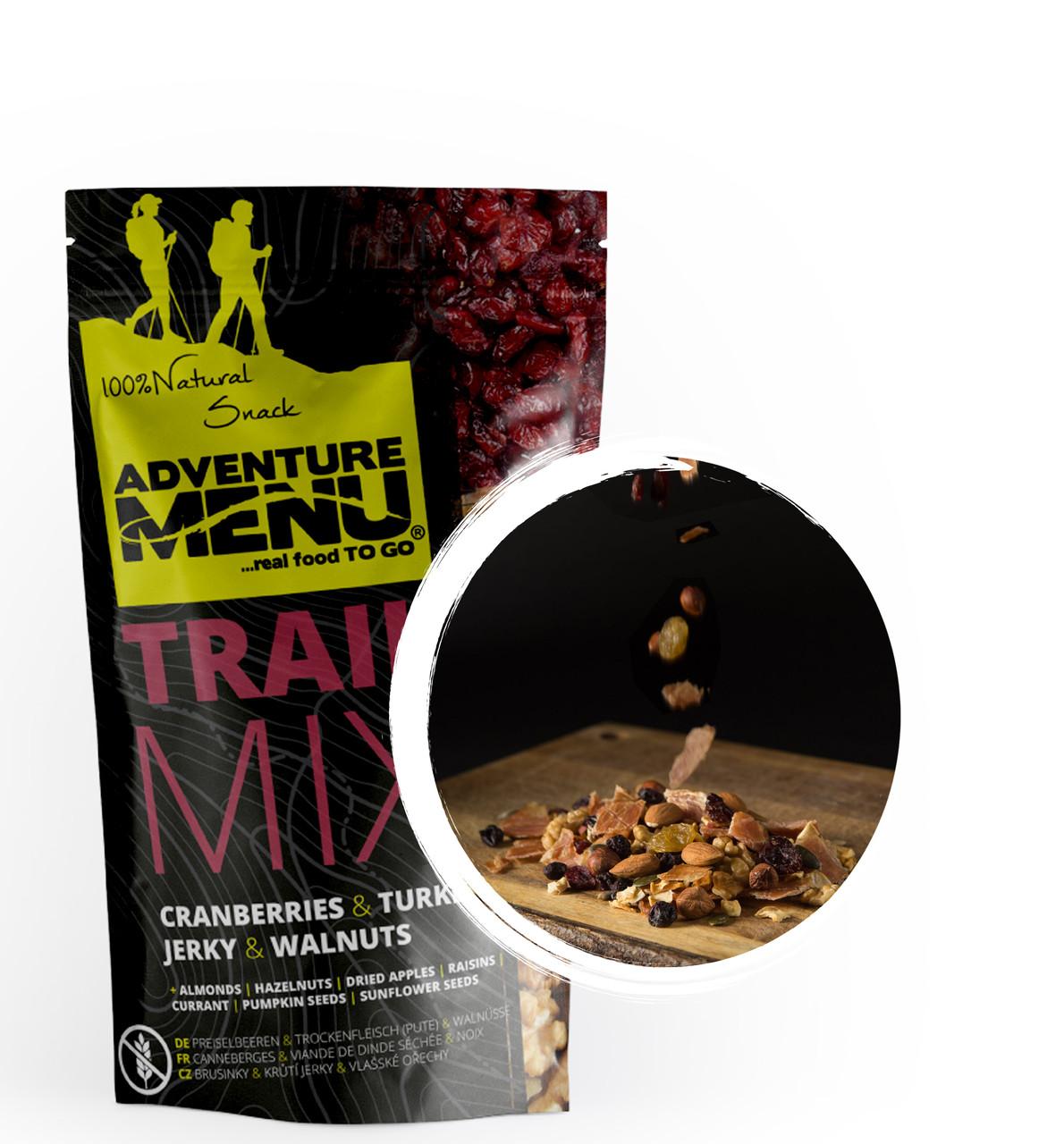 Туристическое блюдо Adventure Menu Trail Mix индейка с грецким орехом и клюквой