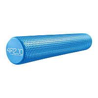 Массажный ролик (валик, роллер) 4FIZJO Eva 90 x 15 см 4FJ0116 Blue SKL41-240430