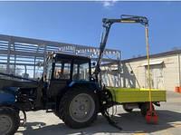 Коммунальный тракторный полуприцеп DL CityMaster с манипулятором