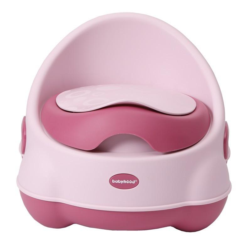 Детский горшок Изобретатель Babyhood светло-розовый (BH-112LP)