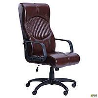 Кресло офисное AMF Геркулес Пластик тёмно-коричневое, фото 1