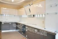 Стеклянные фартуки на рабочую поверхность кухни, фото 1