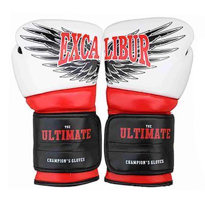 Перчатки боксерские Excalibur 8031-02 Ultimate (белый/красный/черный)