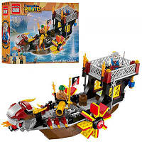 Конструктор Brick 1307 Legendary Pirates Корабль Сын морей 345 деталей